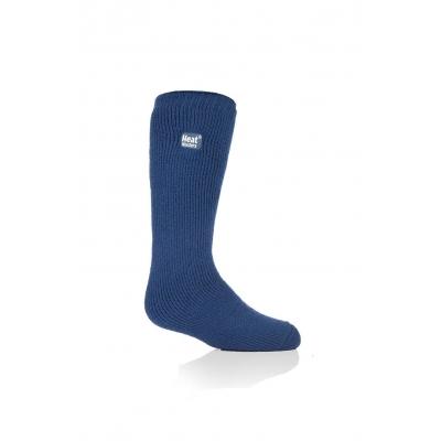 Vaikiškos kojinės iki kelių, 27-33 dydžio, tamsiai mėlynos
