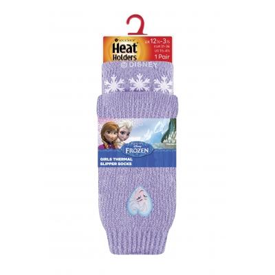 HEAT HOLDERS Frozen [Princess] (Ledo šalis) vaikiškos kojinės,  30-35 dydžio