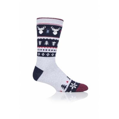 Šiltos plonesnės kojinės vyrams, HEAT HOLDERS LITE, kalėdinės