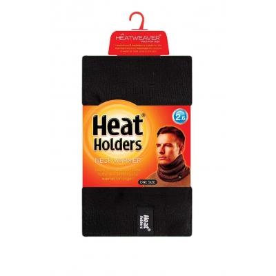 Kaklo šildyklė mova vyrams, juoda, HEAT HOLDERS