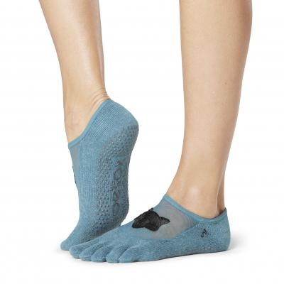 Pirštuotos neslystančios kojinės, Luna, Foxy/ ToeSox