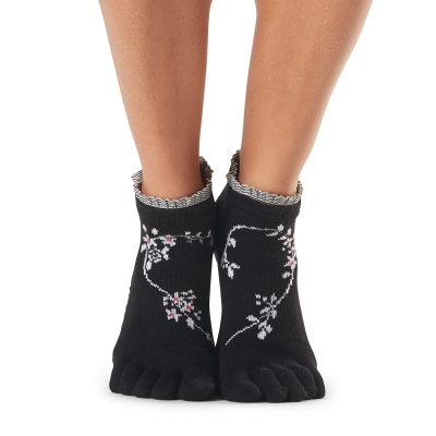 Pirštuotos neslystančios kojinės, Lowrise, Evermore/ ToeSox