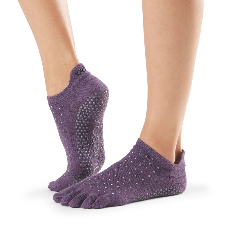 Pirštuotos neslystančios kojinės, Lowrise, Jam/ ToeSox