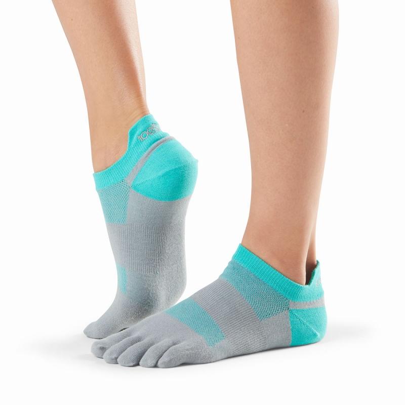 Pirštuotos neslystančios kojinės, Sport Perfdry LoLo, Ice/ ToeSox