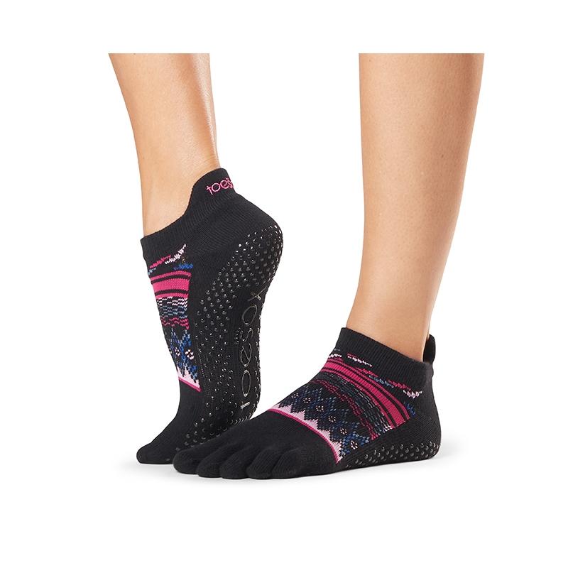 Pirštuotos neslystančios kojinės, Lowrise, Woodstock/ ToeSox