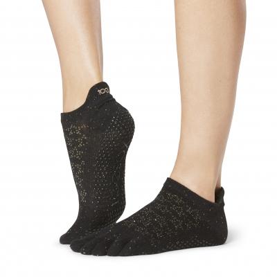 Pirštuotos neslystančios kojinės, Lowrise, Aligned/ ToeSox