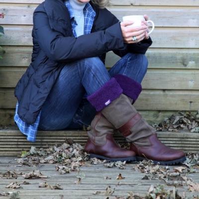 Šiltos guminių batų kojinės moterims HEAT HOLDERS