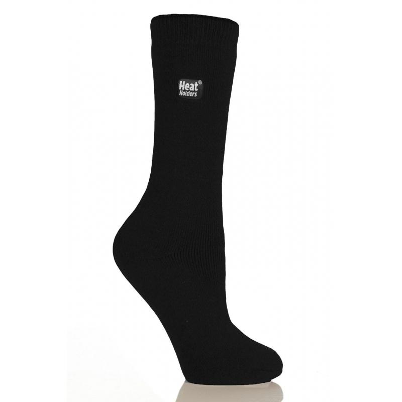 HEAT HOLDERS juodos LITE  kojinės moterims